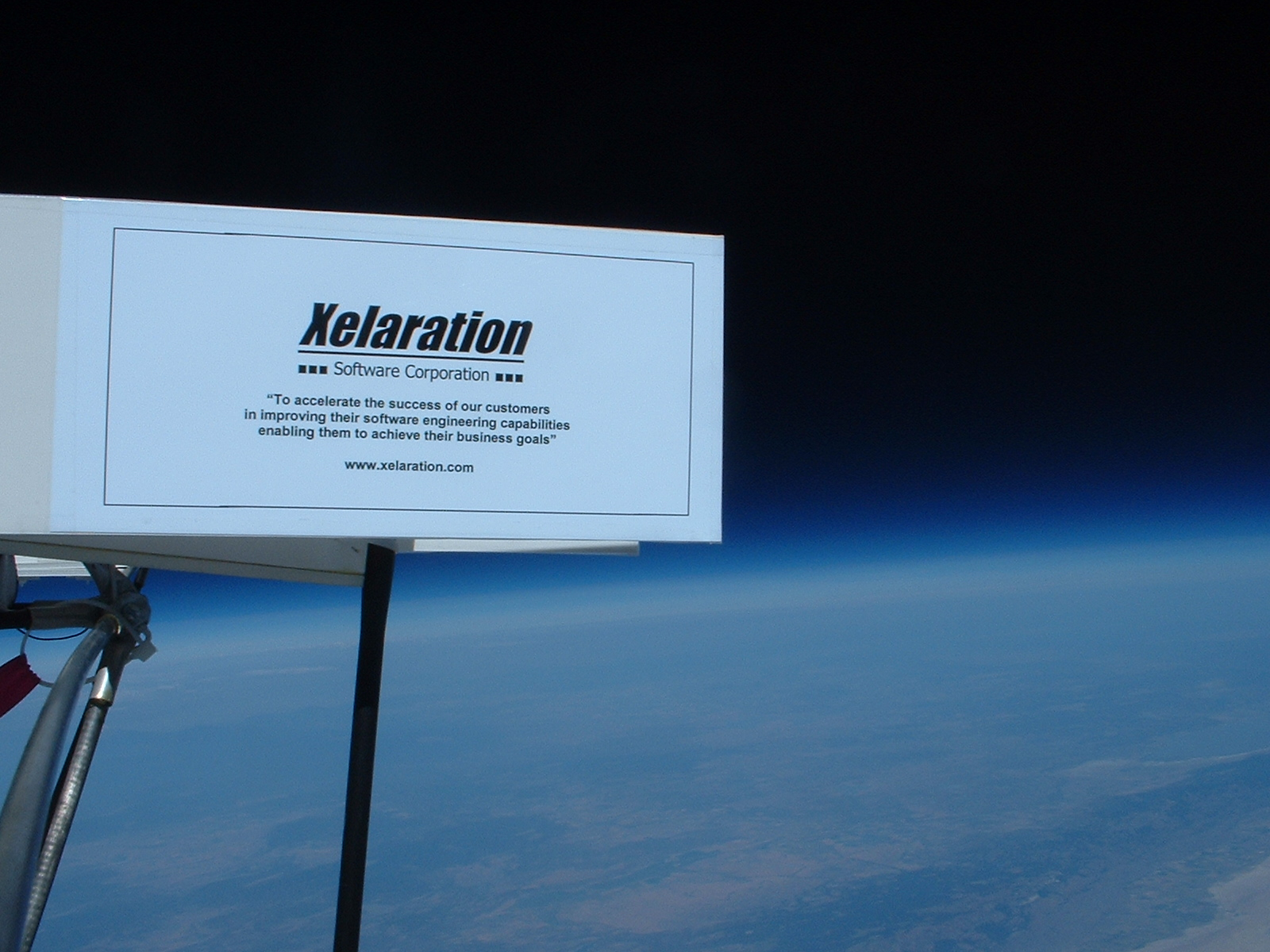 Xelaration at the Edge of Space